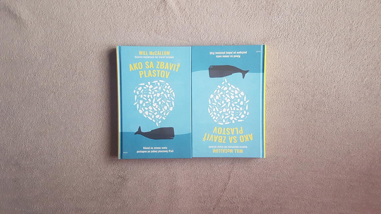 Sútaž o 2 knihy - Ako sa zbaviť plastov od autora Will McCallum