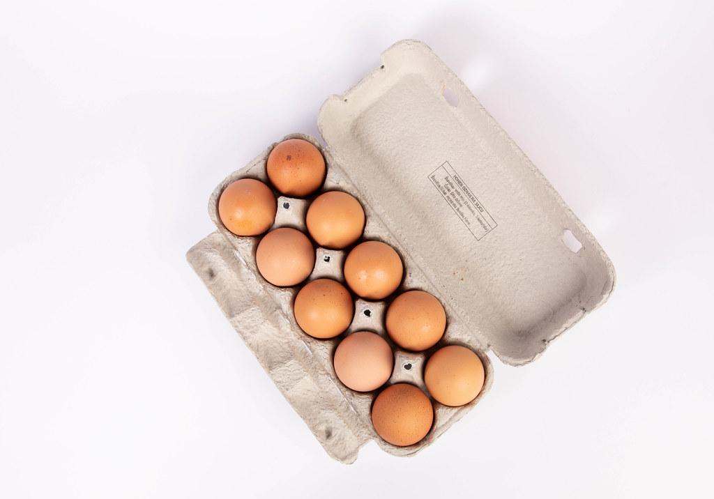 Ako recyklovať/triediť obal/kartón na vajíčka
