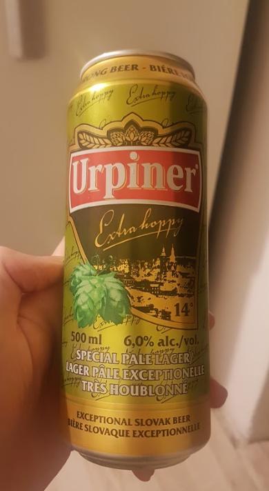 Ako recyklovať/triediť pivo urpiner - plechovka