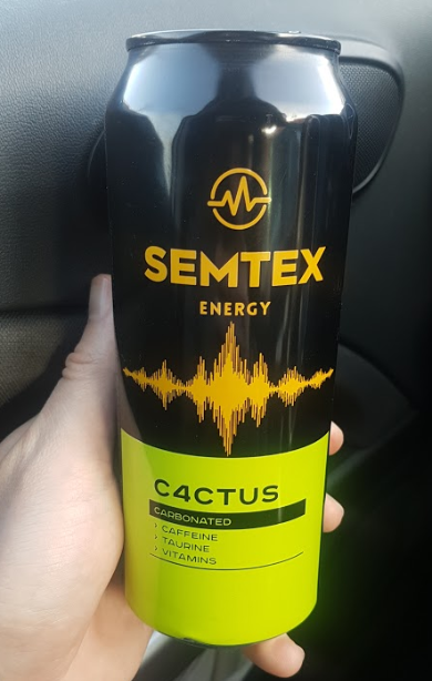 Ako recyklovať/triediť energetický nápoj semtex c4ctus