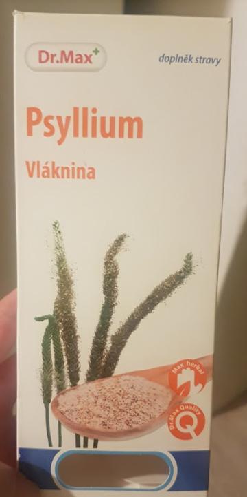 Ako recyklovať/triediť obal psyllium vláknina dr.max