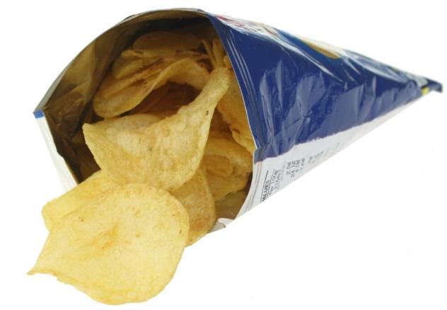 Ako recyklovať/triediť balíček slovakia chipsov (čipsov) - zemiakové lupienky