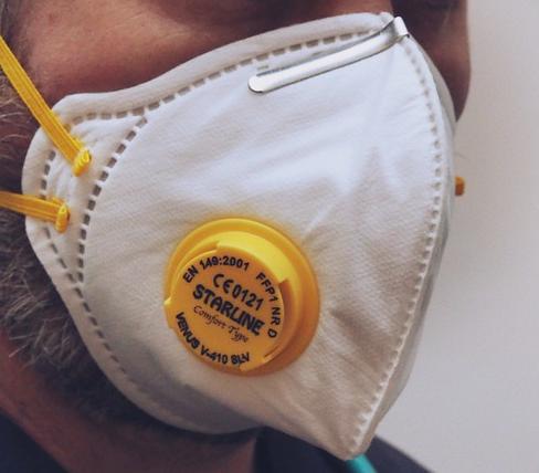 Ako recyklovať/triediť respirátor