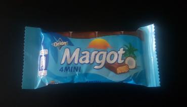 Ako recyklovať/triediť orion margot 4mini tyčinky s kokosom