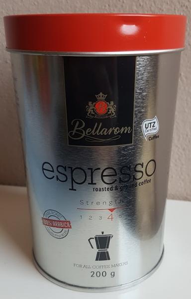 Ako recyklovať/triediť bellarom caffé espresso lidl káva