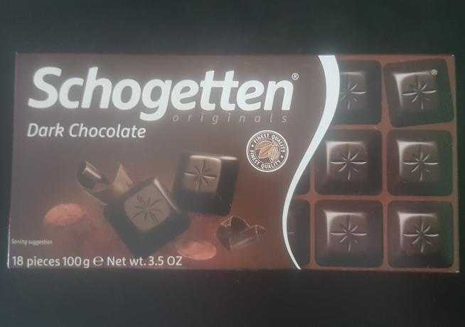 Ako recyklovať/triediť schogetten dark chocolate - tmavá čokoláda