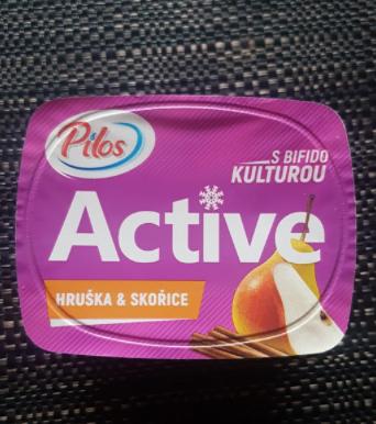 Ako recyklovať/triediť jogurt active hruška a škorica s bifido kulturou - pilos