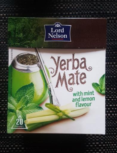 Ako recyklovať/triediť čaj yerba mate with mint & lemon grass - lord nelson