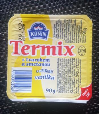 Ako recyklovať/triediť termix s tvarohem a smetanou vanilka - kunin