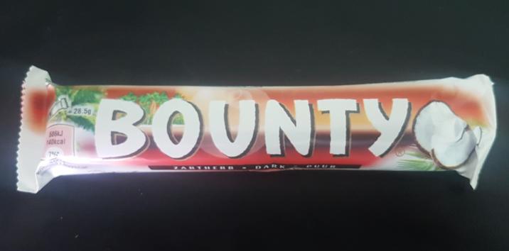 Ako recyklovať/triediť bounty dark chocolate