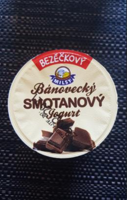 Ako recyklovať/triediť bezéčkový bánovecký smotanový jogurt čokoláda
