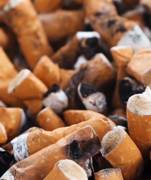 Ako recyklovať/triediť cigaretový ohorok