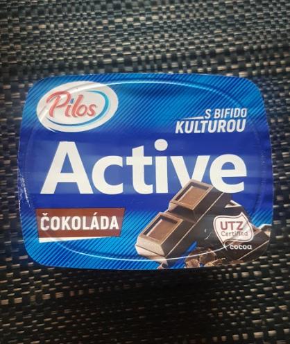 Ako recyklovať/triediť jogurt active čokoláda s bifido kulturou - pilos