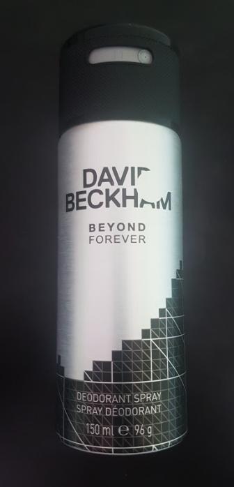 Ako recyklovať/triediť david beckham beyond forever deodorant spray