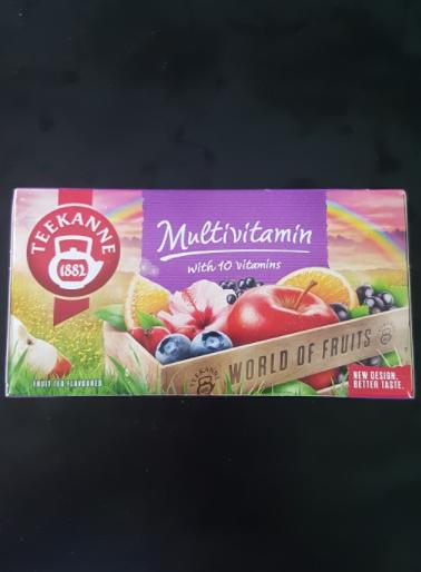 Ako recyklovať/triediť čaj teekanne multivitamin with 10 vitamins - world of fruits