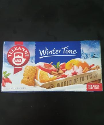 Ako recyklovať/triediť čaj teekanne winter time - world of fruits