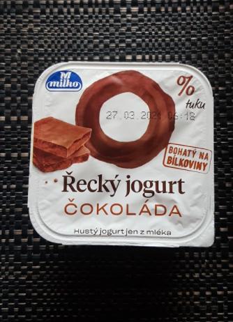 Ako recyklovať/triediť řecký jogurt čokoláda milko