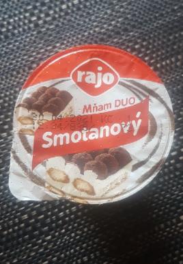 Ako recyklovať/triediť mňam duo smotanový jogurt tiramisu - rajo