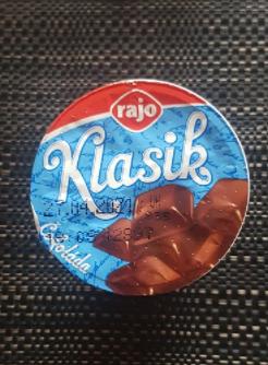 Ako recyklovať/triediť rajo klasik jogurt - čokoláda