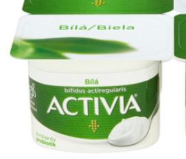 Ako recyklovať/triediť activia jogurt biely