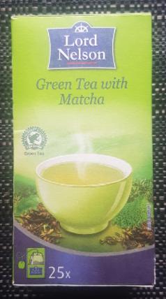 Ako recyklovať/triediť čaj green tea with matcha - lord nelson
